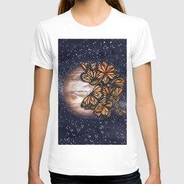 Jupiter's Butterflies Colour Version T-shirt