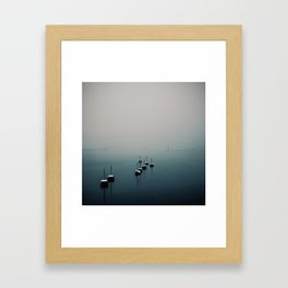 Sleepy - Winter Baltic Sea Serie Framed Art Print