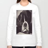 boxer Long Sleeve T-shirts featuring Boxer by tangledshoebox