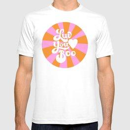 Love You Boo Starburst T-shirt