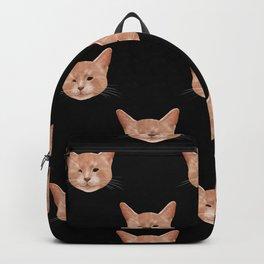 Kiki, the pretty blind cat Backpack