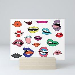 Word of mouth Mini Art Print