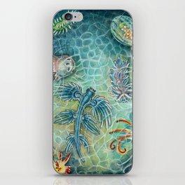 The Blue Dragon iPhone Skin