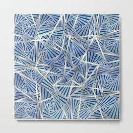 Icelines Metal Print