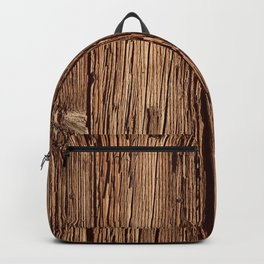 Industrial Urban Reclaimed Wood Organic Planks Backpack