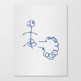 Fart! Canvas Print