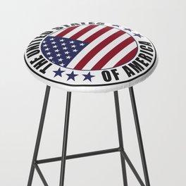 The United States of America - USA Bar Stool