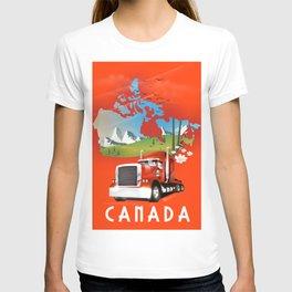 Canada Truck T-shirt