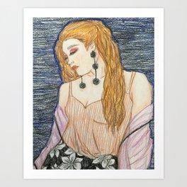 Poised Art Print
