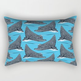 The Spotted Eagle Ray Rectangular Pillow