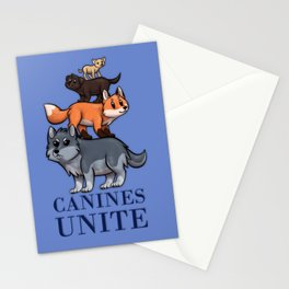 Canines Unite Stationery Cards