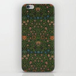 Violet and Columbine - William Morris iPhone Skin