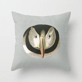 Puffling time Throw Pillow
