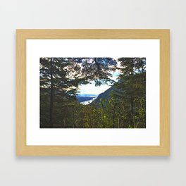 Window to Alaska Framed Art Print