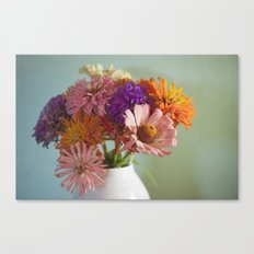 Asters Canvas Print