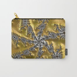 Gold and Silver Carry-All Pouch