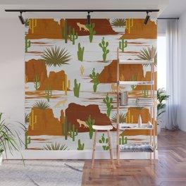 Desert Modernism-Cactus Wall Mural
