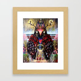 Dreaming Guardian Framed Art Print