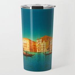Venice Italy Vintage Original Painting Travel Mug
