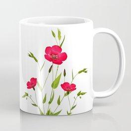 wild red flax Coffee Mug
