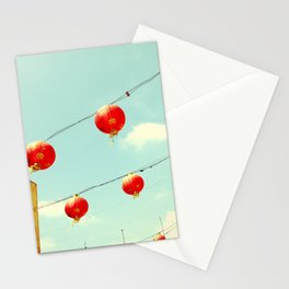 Lanterns III, Chinatown Stationery Cards