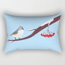 AFE Bird on a branch Rectangular Pillow