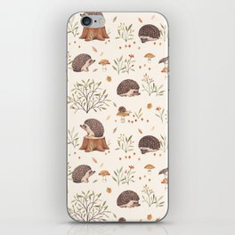 Little Hedgehog iPhone Skin