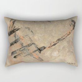 Ancient Storm Rectangular Pillow