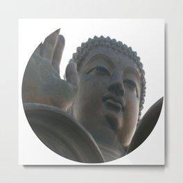 The Big Buddha Metal Print