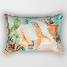 Turkish Reader Rectangular Pillow