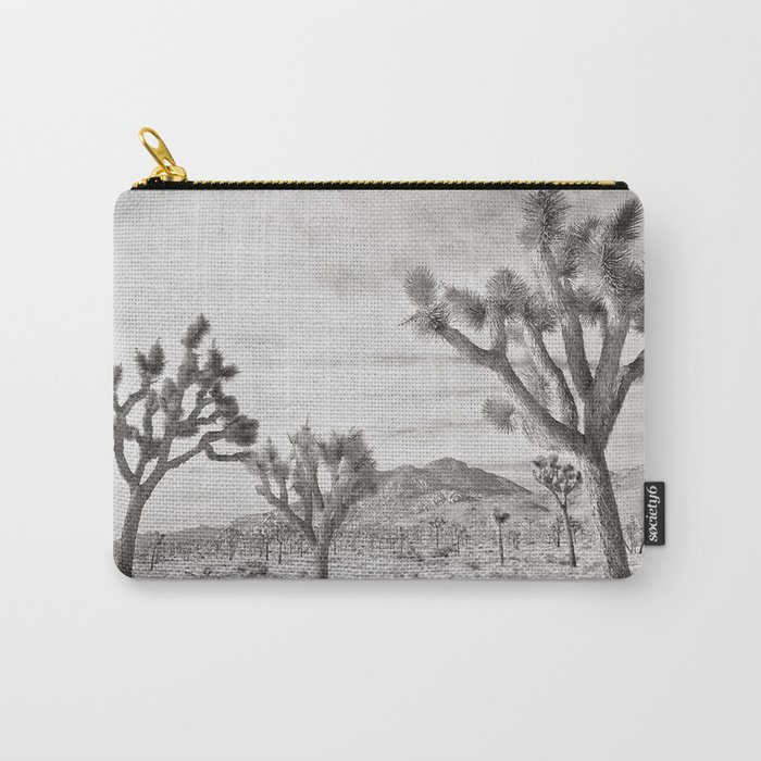 Joshua Tree Grey By CREYES Carry-All Pouch