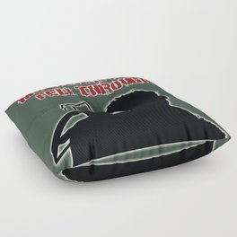 Daryl Dixon-My Other Plans Fell Through Floor Pillow