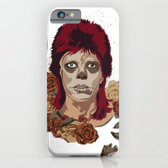 Ziggy de los Muertos iPhone & iPod Case