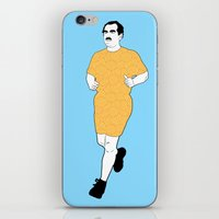 mustache iPhone & iPod Skins featuring MUSTACHE by Alessandro Geri Rustighi