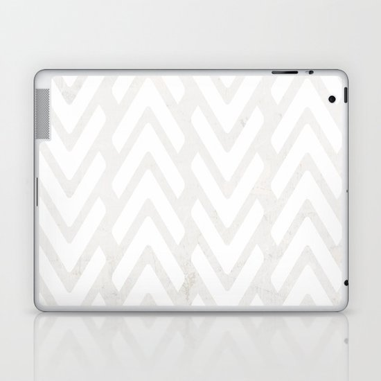 Chevron Tracks Laptop & iPad Skin