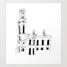 St. Georges in the East Art Print