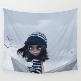 Erregiro Blythe Custom Doll The Hope Sailor Wall Tapestry