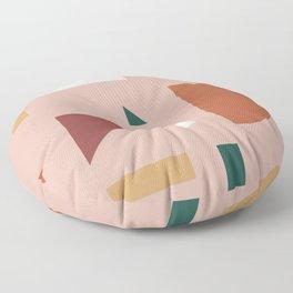 Abstract Geometric 31 Floor Pillow