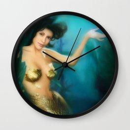Charmed Mermaid Wall Clock