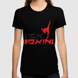 Kickboxing Krav Maga Taekwondo Training T-shirt