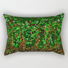 Abstract Forest Rectangular Pillow