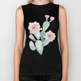 The Prettiest Cactus Biker Tank