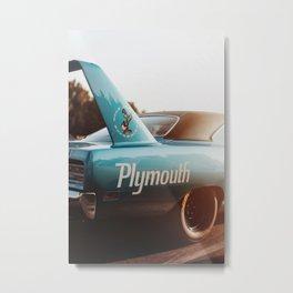 Plymouth RoadRunner Metal Print