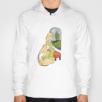 rapunzel Hoodies featuring Rapunzel by Little Moon Dance