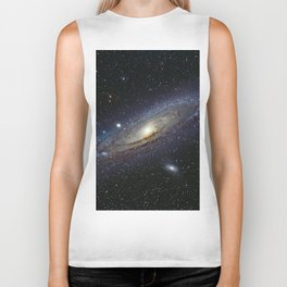 The Andromeda Galaxy Biker Tank