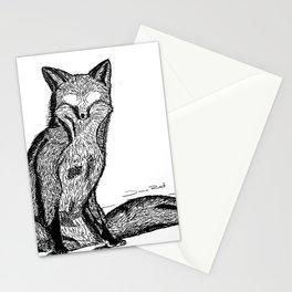 FOX EYES Stationery Cards