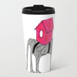 Cat-Snail Travel Mug