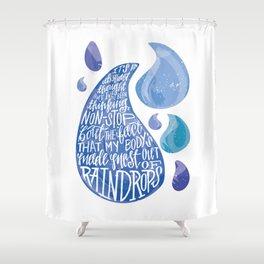 Saltwater Heart. [Switchfoot] Shower Curtain