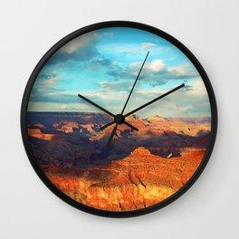 Grand Canyon - National Park, USA, America Wall Clock
