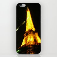 alcohol iPhone & iPod Skins featuring Paris, by Alcohol by Art de L'aube